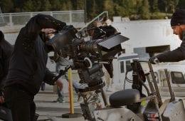 Filminspelning Foto: Johan Paulin