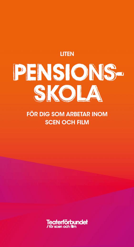Liten pensionsskola