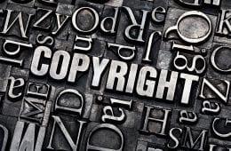 Bild av ordet Copyright