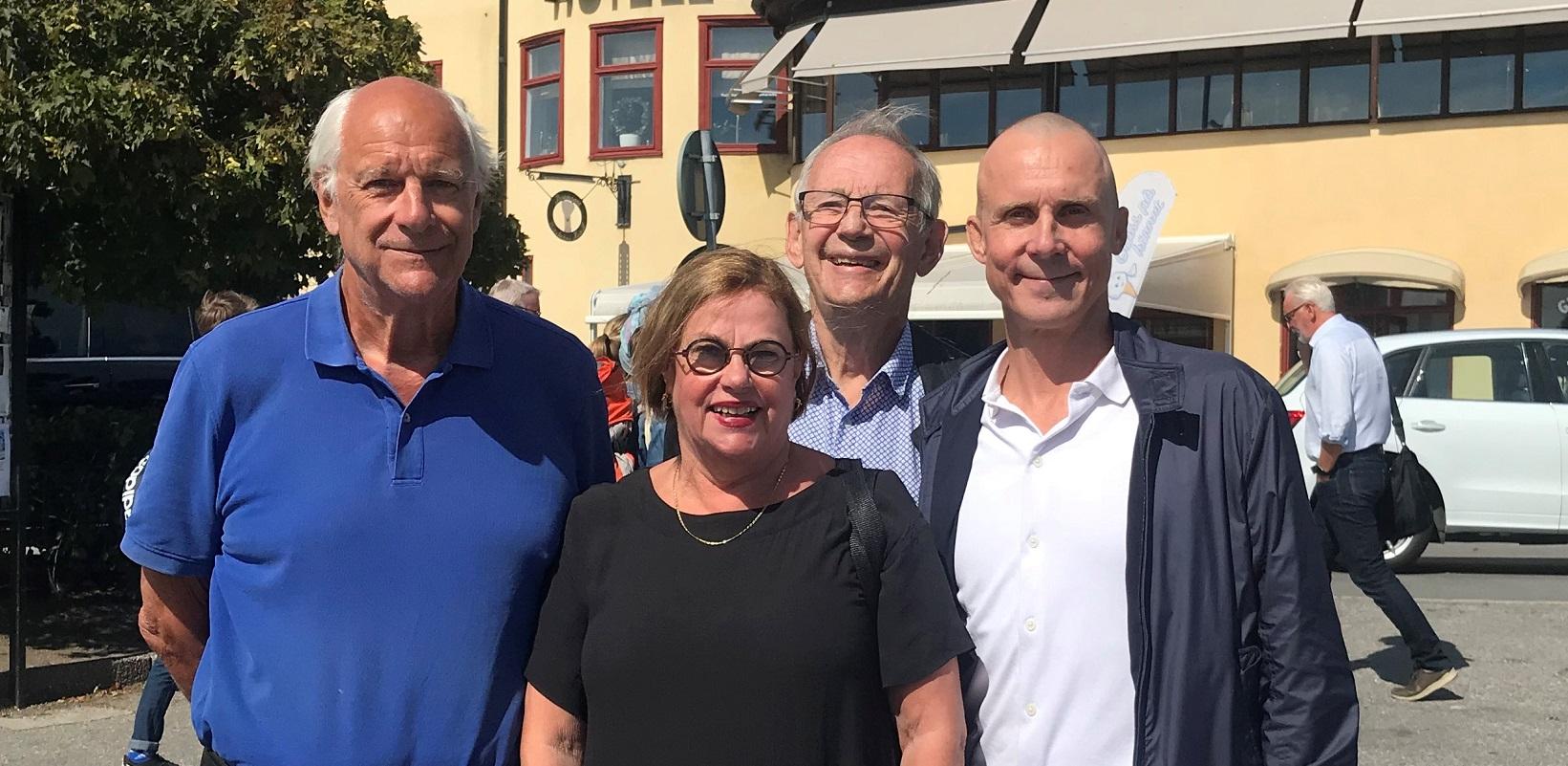 Fyra ordförande i Teaterförbundet för scen och film