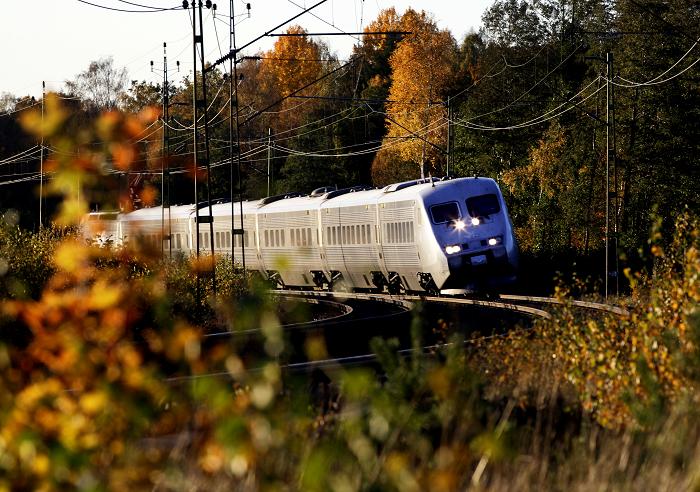 SJ-tåg Höst Foto: Stefan Nilsson