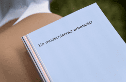 Utredningen En moderniserad arbetsrätt Foto: Fredrik Sandberg/TT