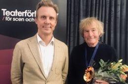 Niklas Ek får Teaterförbundets guldmedalj 2020